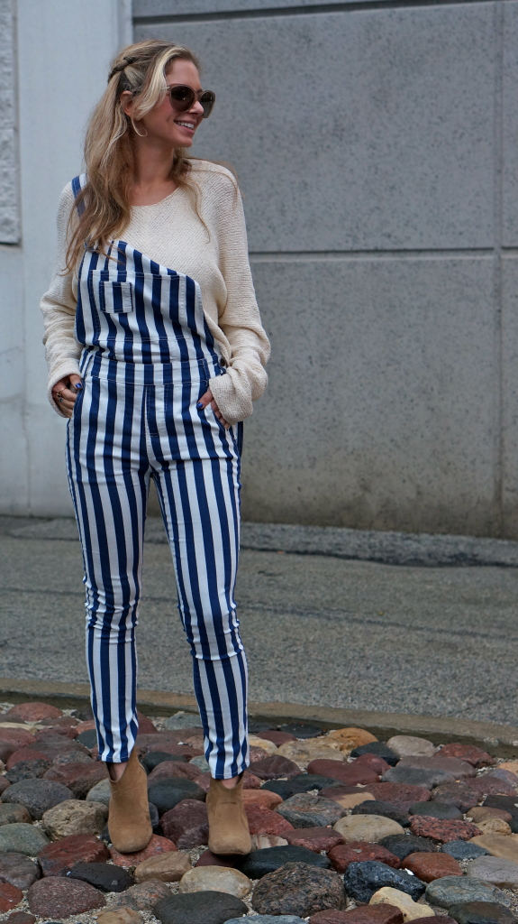Winter Striped Overalls Ariel P 234 Che
